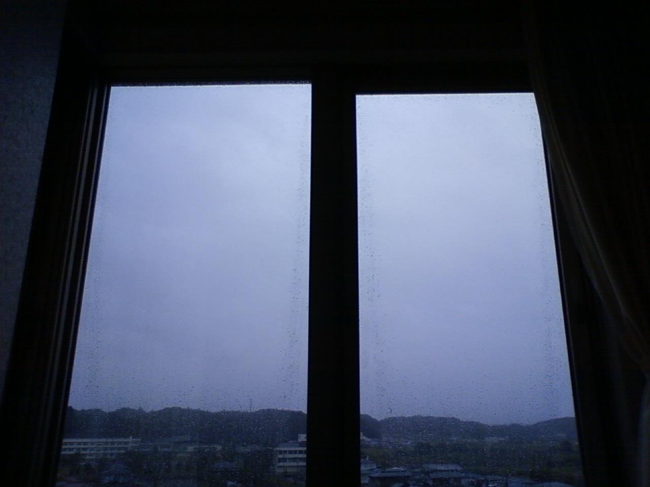 16日目(10/8) 台風接近