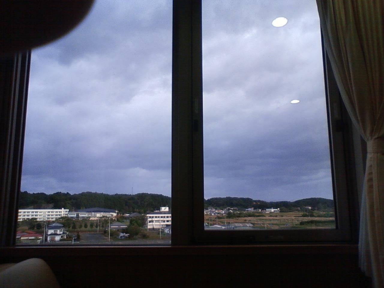 17日目(10/9) 台風一過