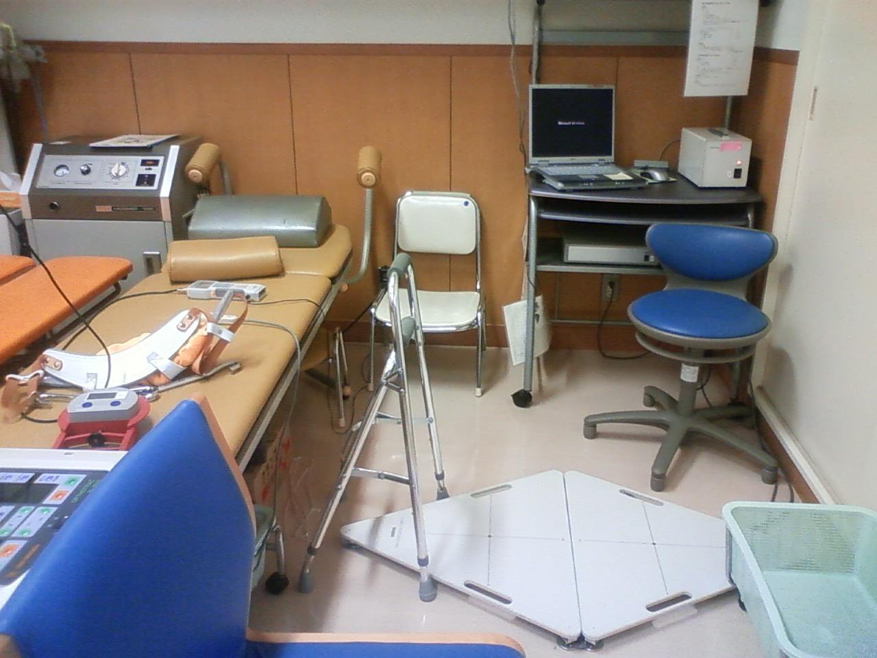 入院43日目(11/04)退院試験