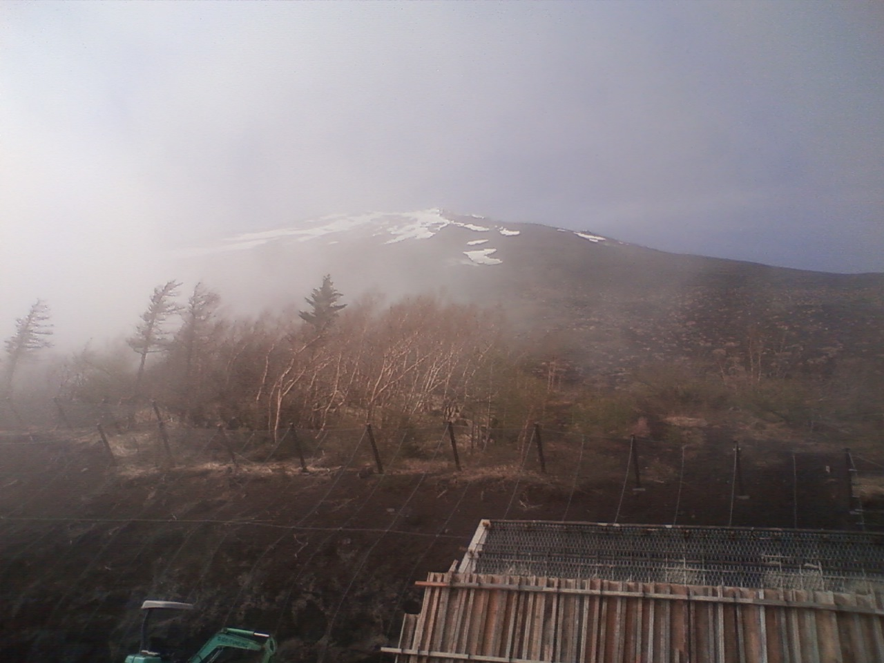 富士山ちょっとだけ